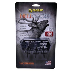 New Archery Products 60-410 Hellrazor 100 (3 Pk)