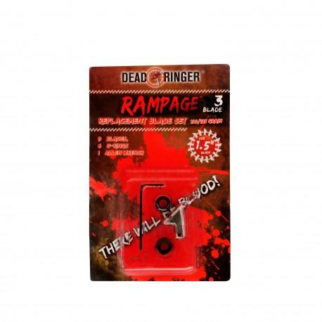 """""""Dead Ringer DR4750 Rampage 100/125 Grain 3 Blade 1.5"""""""" Br"""""""