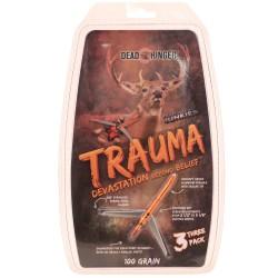 """""""Dead Ringer DR4767 Trauma 100 Grain 2 Blade (3 1/8Th"""""""" Blade)"""""""
