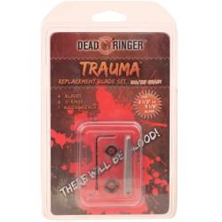 """Dead Ringer DR4781 Trauma 100/125 Grn 2 Bld (2.5""""-3 1/8"""" Br)"""