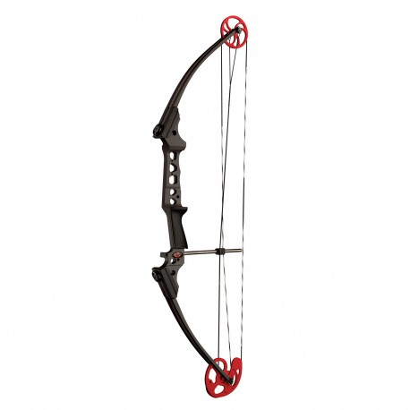 Genesis 10497A Gen Pro LH Black w/ Red Cam Bow Only