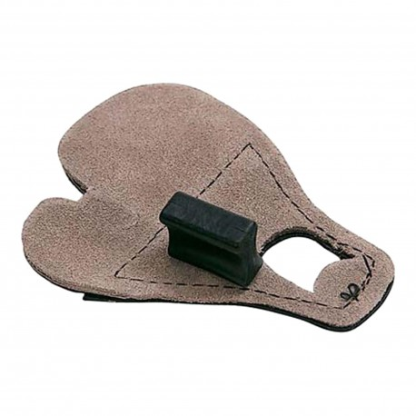 Allen Cases 15003 Calf Hair No Pinch Shooting Tab Blk
