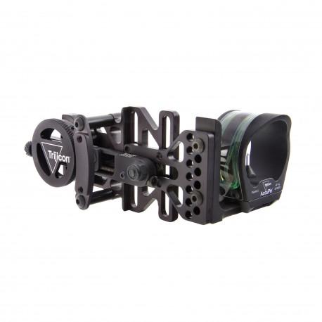 Trijicon BW50G-BL AccuPin Bow Sight Grn/RH/Blk