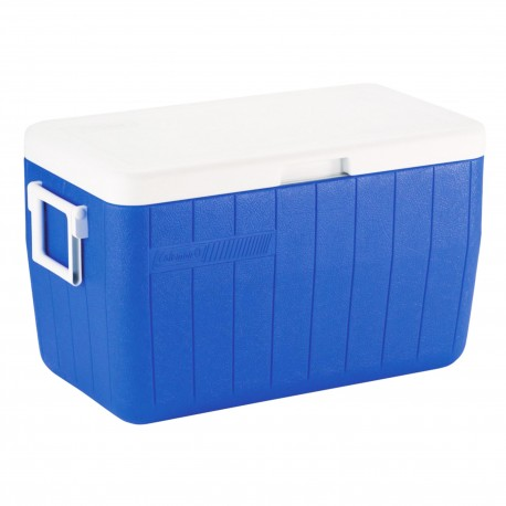 Coleman 3000000152NP Cooler 48qt Blue No Tray Glbl