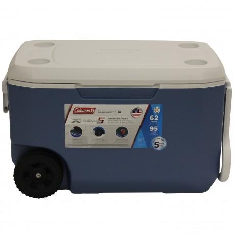 Coleman 3000004025NP Cooler 62qt Whld Blue/wht/wht 5862