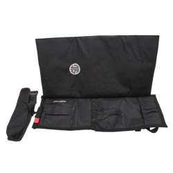 """SigTac CARBAG-RIFLE-BLK Rifle Bag Car Seat Back Up To 20"""" Bbl Blk"""
